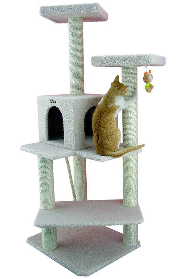 The Most Amazing Cat Tree Houses Would Impress Even the Most Grumpy Feline